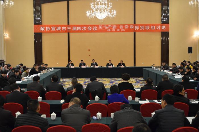 韩军出席市政协三届四次会议界别联组讨论会